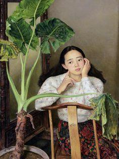 1995 BIG PLANT, by Yang Feiyun