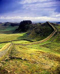 Hadrian's Wall, Northumberland, Uk - Just Below The Scotland/england Border. Got To Walk On The Ancient Wall Amongst All The Sheep. :-) Lovely Outing.