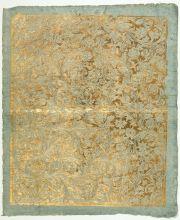 Brokatpapier Nürnberg um 1785