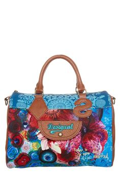 Desigual - FUNTHAITI - Handbag - blue