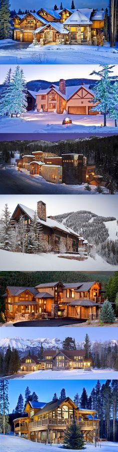 Plan your ski vacation with family and friends in one of our luxury Colorado cabins, lodges and home! #HomeAway