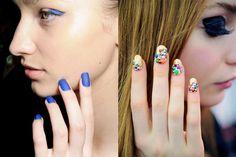 In & Out: las tendencias de belleza del 2014: Uñas minimal vs Extreme nail art