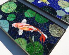custom mosaic art for the home & garden by ParadiseMosaics Mosaic Birdbath, Ceramic Mosaic Tile, Mosaic Art, Mosaic Glass, Glass Art, Stained Glass Paint, Stained Glass Patterns, Mosaic Patterns, Mosaic Animals
