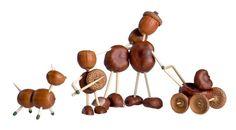 creative bastelides with chestnut