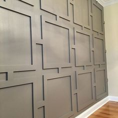 In this page, you will discover how to use wall paneling ideas to add interest, texture, and character to every room. It's a great way to make your wall more decorative than just adding wall Source by chomedecorcom decor ideas wall projects Wainscoting Wall, Wall Molding, Moldings, Home Renovation, Home Remodeling, Wood Paneling, Paneling Ideas, Wall Panelling, Modern Wall Paneling