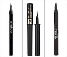 Three pen liners -- from Smashbox, Lancome, and Revlon -- to get you Adele's cat eye.