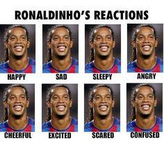 Brazylijczyk kiedy jest smutny, wesoły, śpiący, przestraszony, szczęśliwy, zły •…
