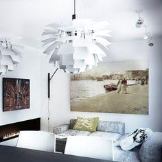 Living room design in Katowice, POLAND - archi group. Pokój dzienny w mieszkaniu w Katowicach.