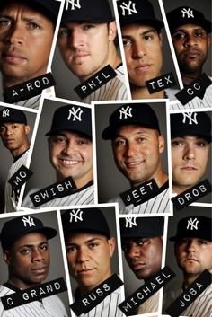 The only men in my life that i really ever need! my Yankee Boys<3<3<3<3 :D