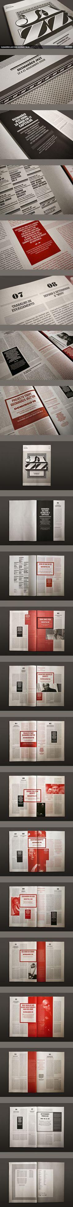 The Jazz 09 Journal by Atelier Martinoña , via Behance [damn beautiful]