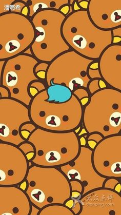 ?????????????????????? rilakkuma wallpaper iphone | wallpaper ...