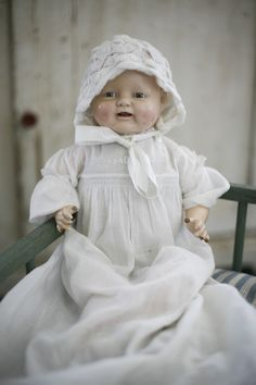 antique 'bubbles' doll .  From 1928 - the same yr my house was built, and the year of my FiL's birth!