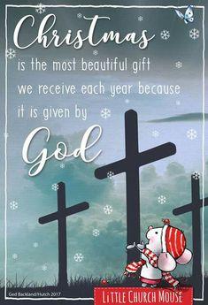 Little Church Mouse Christmas Card Sayings, Christmas Prayer, Christmas Program, Christmas Blessings, Christmas Wishes, Christmas Pictures, Christmas Greetings, Christmas Crafts, Merry Christmas