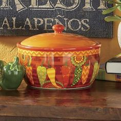 You'll love our selection of small kitchen décor, kitchen storage solutions and dining accessories. Fiesta Kitchen, Mexican Kitchen Decor, Mexican Kitchens, Kitchen Themes, Kitchen Ideas, Aztec Home Decor, Fiesta Decorations, Chili, Bean Pot