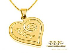 Wide collection of Name Pendants.  Order Online Now, Free Shipping!