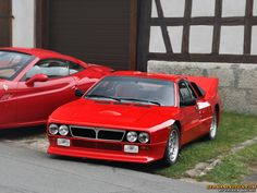 Lancia 037: A GroupB Rally hero, won against the mighty Quattros with RWD. This is the ultra rare road going version