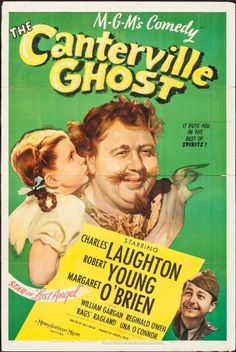 Charles Laughton, Robert Young, and Margaret O'Brien in The Canterville Ghost (1944)