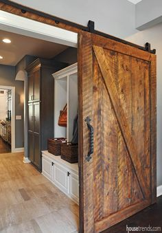 Love this sliding door