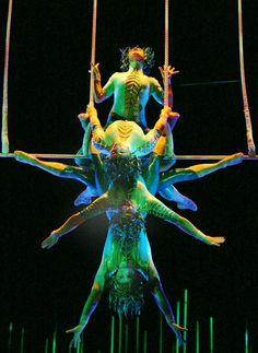 Cirque du Soleil I want to see a Cirque du Soleil show live!