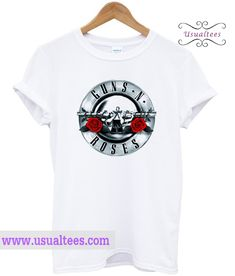 Guns N Roses T Shirt from usualtees.com This t-shirt is Made To Order, one by one printed so we can control the quality.