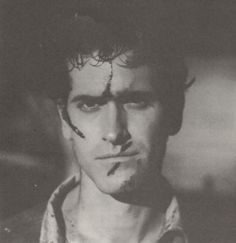 Bruce Campbell in EVIL DEAD II.                                                                                                                                                                                 More