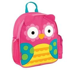 From carrying everything from toys to snacks, the Owl Mini Sidekick Backpack from Stephen Joseph is the ultimate travel companion. Showcasing a fun animal design, this durable pack is fully equipped with cushioned straps, mesh side pockets, and more. Mochila Skip Hop, Mini Mochila, Owl Backpack, Toddler Backpack, Best Kids Backpacks, Cute Backpacks, Kindergarten, Personalized Baby Gifts, Animal Design
