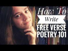 How To Write Free Verse Poetry 101 | Writing Tips - YouTube Start Writing, Writing Tips, Shameless Plug, Free Verse, I Got You, Poems, Youtube, Poetry, Verses