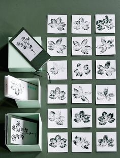 DIY: Make even the finest card with botanical print | Femina Design: Pernille Albers