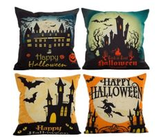 Add some spookiness to their living room  http://www.sentimentalsam.com/halloween.html