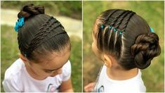 Little Girl Hairstyles Lil Girl Hairstyles, Girls Hairdos, Princess Hairstyles, Braided Hairstyles, Short Hairstyles, Hairstyles 2016, Toddler Hairstyles, Hair Due, Natural Hair Styles