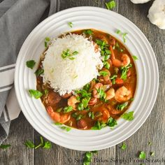 Gumbo Recipe | 23 Festive Fat Tuesday Ideas | Mardi Gras Party - Fun DIY Crafts, Costumes, Party Decorations, Food Recipes And More! by Pioneer Settler at http://pioneersettler.com/fat-tuesday-party/
