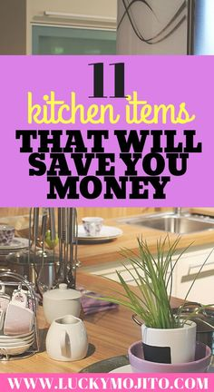 Here are 11 kitchen items that will save you money (and time). Stop eating out all the time and make cooking at home easier and tastier! Money Saving Meals, Save Money On Groceries, Save Your Money, Ways To Save Money, Money Tips, Money Savers, Living On A Budget, Frugal Living Tips, Frugal Tips