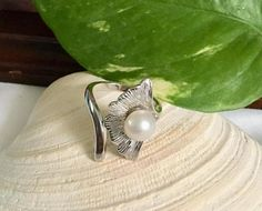 Silver Natural South Sea Pearls on Adjustable White Gold South Seas, South Sea Pearls, Ring Designs, Favorite Things, Gemstone Rings, Design Ideas, White Gold, Wedding Rings, Engagement Rings
