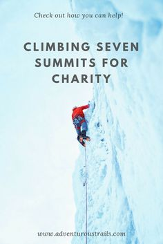 Climbing Seven Summits For Charity | Climbing Kilimanjaro For Charity | Climbing Seven Summits | Mountaineering | Seven Highest Mountains | Hiking Kilimanjaro | Fundraising For Elephants | Mountaineering For Charity | Mountain Climbing For Charity | Adventure Travel | Travel For A Cause | Save African Elephants | Hiking The Highest Mountains | Climbing The Highest Mountains | Ice Climbing | Extreme Hiking | Extreme Adventures