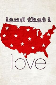 land that i love...