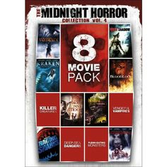 Midnight Horror Collection, Vol. 4 [2 Discs]