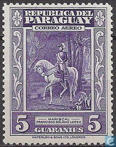 Paraguay - Francisco S. Lopez 1946
