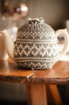 tea pot cozy (if this works i need one!  I can never get through a cup of tea before it gets cold!)