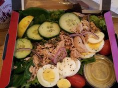Pret tuna nicoise salad @ 174 calories Lunch Dinner