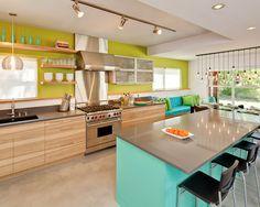 Cozinha colorida! Pireeei *-*