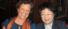 International Family Nursing Association. Left to right: current President of IFNA, Dr. Kit Chelsa, USA, with Dr. Kazuko Ishigaki, Japan. #IFNAorg #familynursing