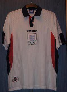 England Home football shirt 1997 - 1999