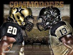 Vanderbilt Commodores Football #SEC