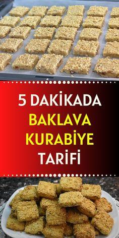 Turkish Delight, Turkish Recipes, Food Art, Almond, Food And Drink, Cookies, Breakfast, Desserts, Recipes