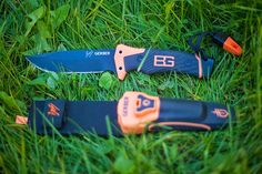 The Gerber Bear Grylls Ultimate Pro survival knife An all purpose cutting knife with a drop point design and a curving spine. It has a 4.8-inch blade that works well in almost all outdoor situations like fishing, camping, hiking, bushcraft and other outdoor adventures. http://survivalknife100.blogspot.com/