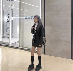 Ulzzang Fashion, Ulzzang Girl, Cool Outfits, Fashion Outfits, Woman Outfits, Fashion Trends, Mix Style, Alternative Outfits, Modern Fashion