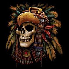 Aztec Skull Head Tshirt Dress Native Mexican Temple Mexico Tenochtitlan Heritage