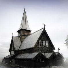 Holmenkollen Chapel   burned down by Varg Vikernes aka Count Grishnackh  It was painted black after it was rebuilt
