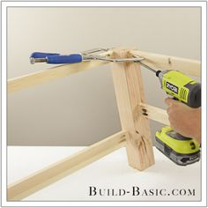 DIY Coffee Table by Build Basic - Step 8