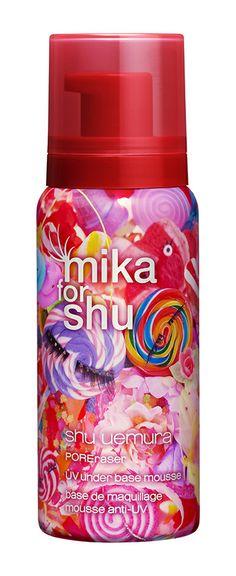 http://shuuemura.com/index.aspx UV under base mousse - for pores and oiliness concerns POREraser UV under base mousse (pink) SPF35 PA+++ #shuuemura  #spring #makeup #mikaninagawa #cosmetics #シュウウエムラ #植村秀